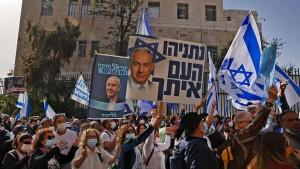 Alles dreht sich um Netanjahu