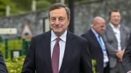 Entschlossen in Sintra: EZB-Präsident Mario Draghi