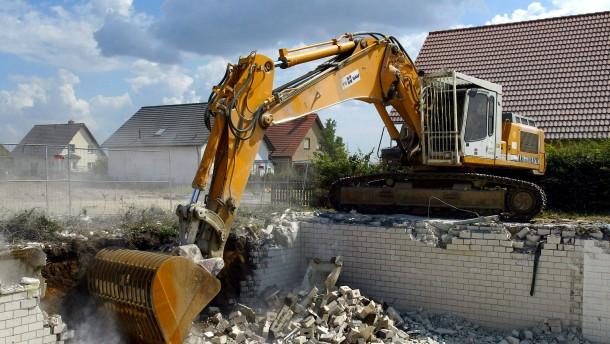 Wenn Wiederaufbauen nichts bringt