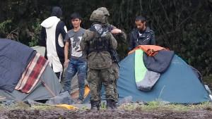 Was geschieht im Grenzgebiet zu Belarus?