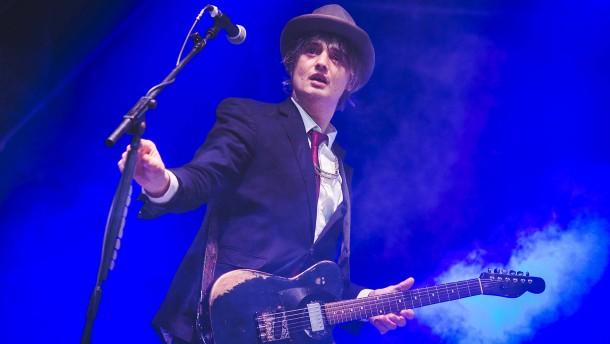Britischer Rocksänger Pete Doherty in Paris festgenommen