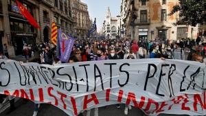 """""""In unserer Demokratie ist Gewalt inakzeptabel"""""""