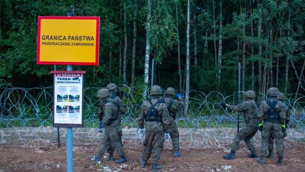 2900 versuchte Grenzübertritte nach Polen im August