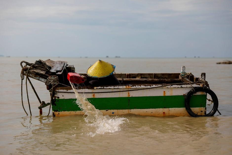 Viele der einfachen Fischer fürchten durch den Abbau von Zinn vor der Küste um ihre Existenz.