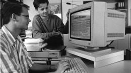 F.A.Z. Redaktionsalltag der 90er-Jahre