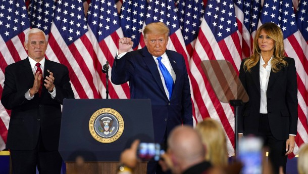 Trumps Foulspiel