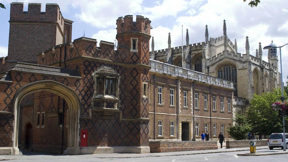 Im Banne des Zeitgeists: Auch am altehrwürdigen Eton-College geht die Gender-Debatte nicht vorbei.