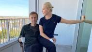 Lebt gefährlich: Aleksej Nawalnyj mit seiner Ehefrau Yulia Navalnaya