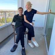 Aleksej Nawalnyj mit seiner Ehefrau Yulia Navalnaya auf einem Foto aus der Berliner Charite, dass er am 21. September auf Instagram veröffentlichte.