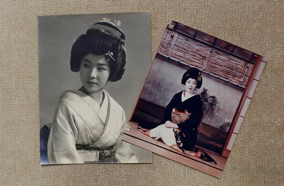 Alte Bilder von Ikuko aus dem Jahr 1964, als sie nach Tokio zog.