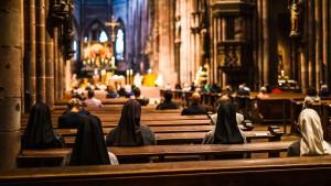 Auch in Kirchen besteht Maskenpflicht