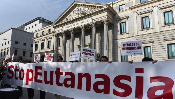 Spanien legalisiert die Sterbehilfe