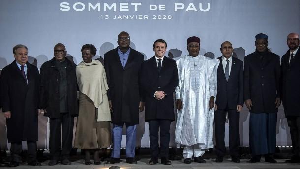Macron: Sicherheit wird in Sahel verteidigt