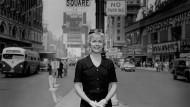 Doris Day auf dem New Yorker Times Sqaure 1958