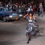 Auf der Fashion Week in New York: Tommy Hilfiger lässt in Harlem so viele schwarze Models auftreten wie nie zuvor.