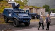 Sondereinheit der kosovarischen Polizei im mehrheitlich von Serben besiedelten Norden