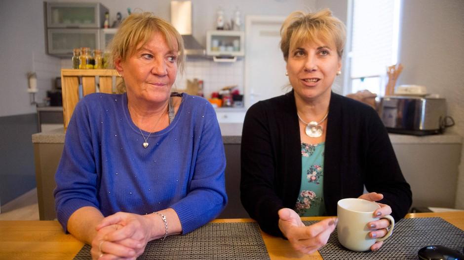 Fühlten sich hilflos: Martina Pirner (links), bis 2015 beim Awo-Kreisverband angestellt, und Angela Braun, bis 2017 in der Awo-Immobilienverwaltung tätig.
