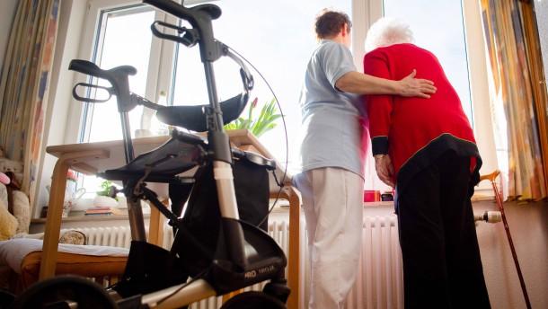 Pflegende Angehörige sind oft überfordert