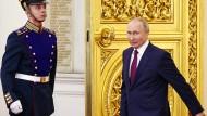Wie im Hospiz: Putin über die Ukraine