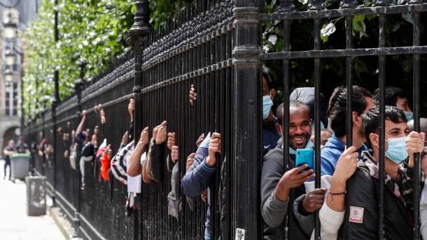 Frankreich hadert mit der Migration