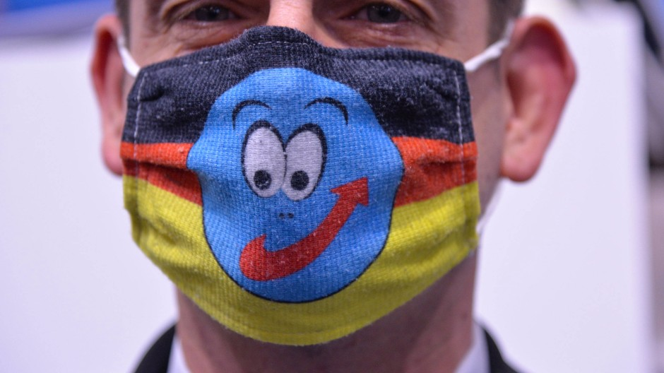 Ein AfD-Mitglied beim Landesparteitag der AfD Rheinland-Pfalz am vergangenen Wochenende