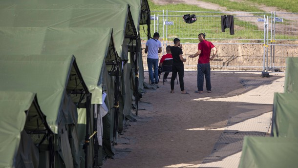 Mehr als hundert Migranten aus Belarus jeden Tag