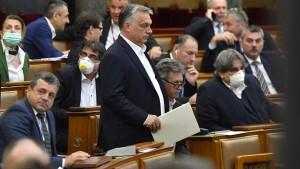 Ungarn verabschiedet umstrittenes Notstandsgesetz
