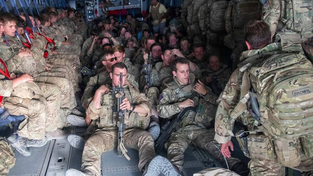 Kämpfen afghanische Soldaten bald für die British Army?