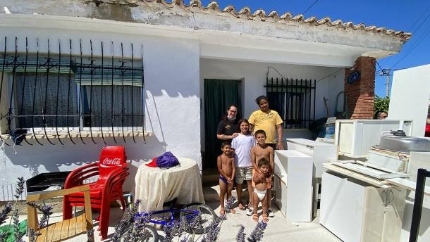 Wie das Leben in Spaniens Dörfer zurückkehrt