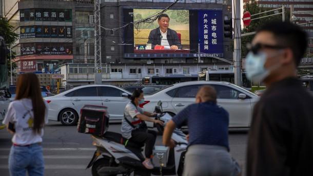 """EU warnt China vor """"sehr negativen Folgen"""""""