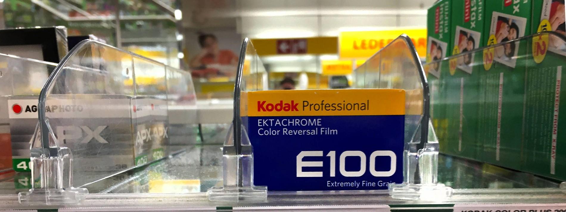 Farbfilme sind Mangelware
