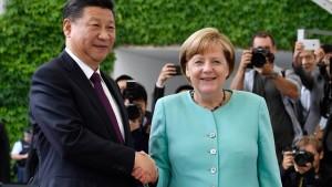 Merkel für erweiterte Beziehung zu China