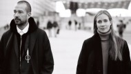 Luke und Lucie Meier teilen sich künftig den Arbeitsplatz bei Jil Sander in Mailand.