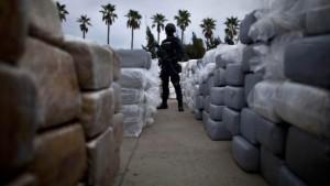 Militär stellt 134 Tonnen Marihuana sicher