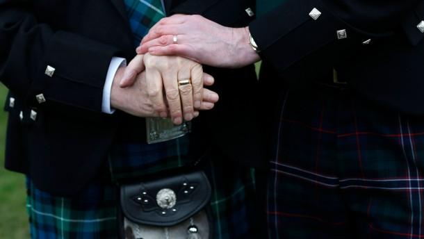 Schottland führt die Homo-Ehe ein