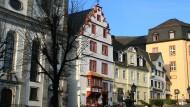 Der Alte Markt im Zentrum der Stadt Hachenburg