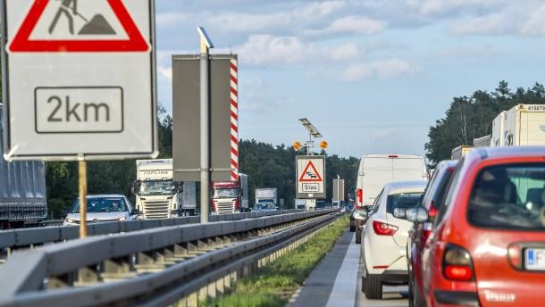 Wo Dauerbaustellen den Verkehr bremsen