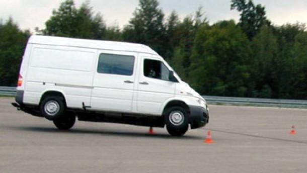 Kein Tempolimit für Kleinlastwagen
