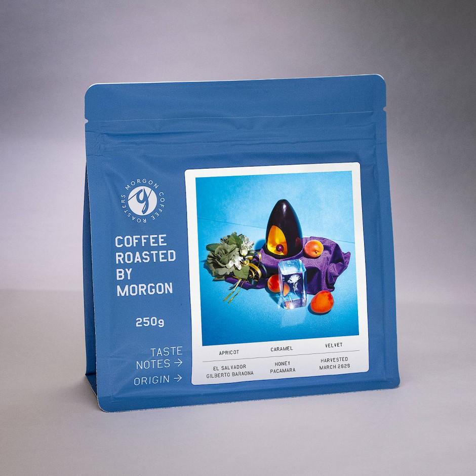 Wer der Verpackung so viel Aufmerksamkeit schenkt, der muss großen Respekt vor dem Inhalt haben, oder? - Verpackung von Morgon Coffee