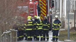 Acht Tote bei Brand in Behindertenheim an deutscher Grenze