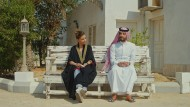 "Saudisches Kino: Fatima Banawi und Hisham Fageeh in dem Film ""Barakah meets Barakah"""