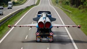 Eurofighter auf der A9