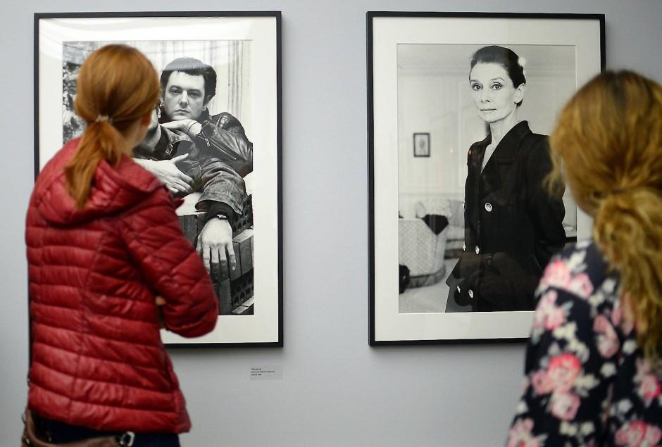 Berühmt als Alice Springs: Porträt-Aufnahmen der Fotografin im Berliner Museum für Fotografie 2016