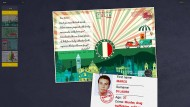 Eine von 21 Postkarten, mit der Europol in der Urlaubszeit nach Verbrechern fahndet.