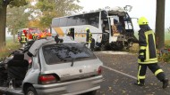 Zwei Tote und 47 Verletzte bei Busunglück in Brandenburg