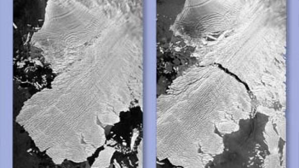 Eisberg von der Größe Mallorcas abgerissen