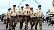 Polizisten auf dem Oktoberfest 2015. In diesem Jahr sollen rund 100 Beamte mehr im Einsatz sein.