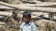 Kinderhändler nutzen die Not der Kleinsten im Katastrophengebiet aus
