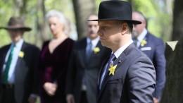Gedenkfeiern zu 75 Jahre Aufstand im Warschauer Ghetto