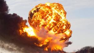 Hunderte Menschen flüchten nach Güterzug-Explosion